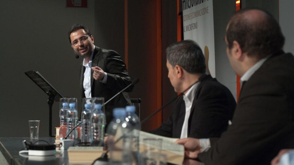 Creare immagini con le parole: online il video del workshop con Patrick Facciolo e Paolo Audino
