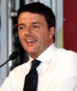 Matteo Renzi, in una foto tratta da Wikipedia (Licenza Creative Commons Attribuzione-Condividi allo stesso modo 3.0 Unported)