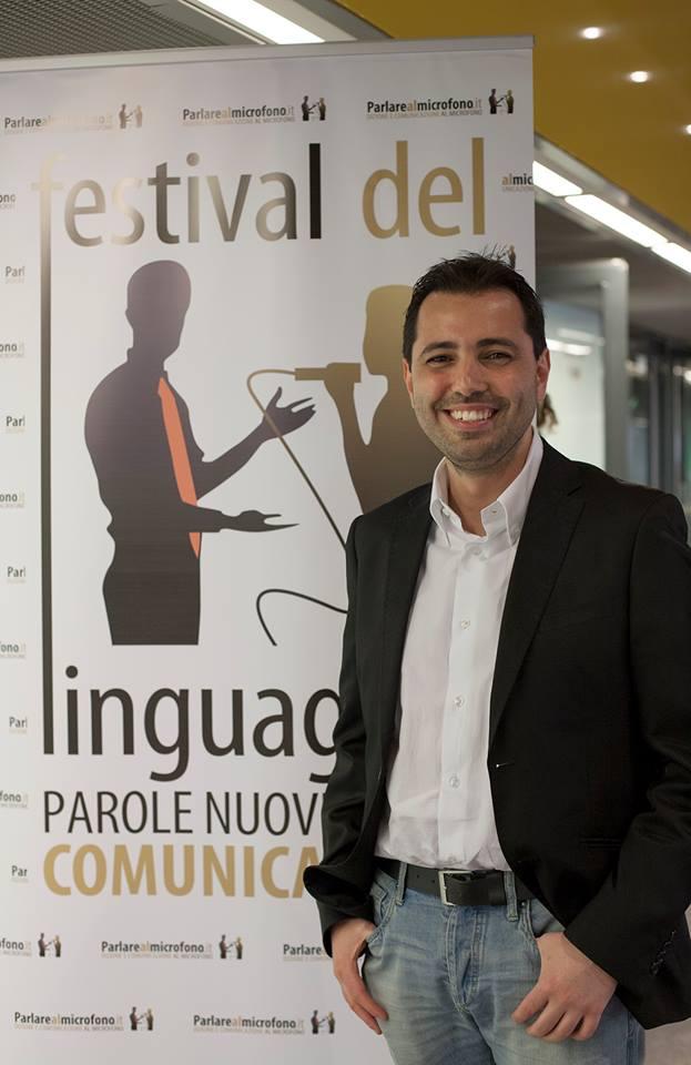 Patrick Facciolo, project manager del Festival del Linguaggio