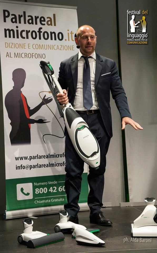 Gabriele Tarenzi, campione nazionale di vendite Vorwerk Folletto 2013
