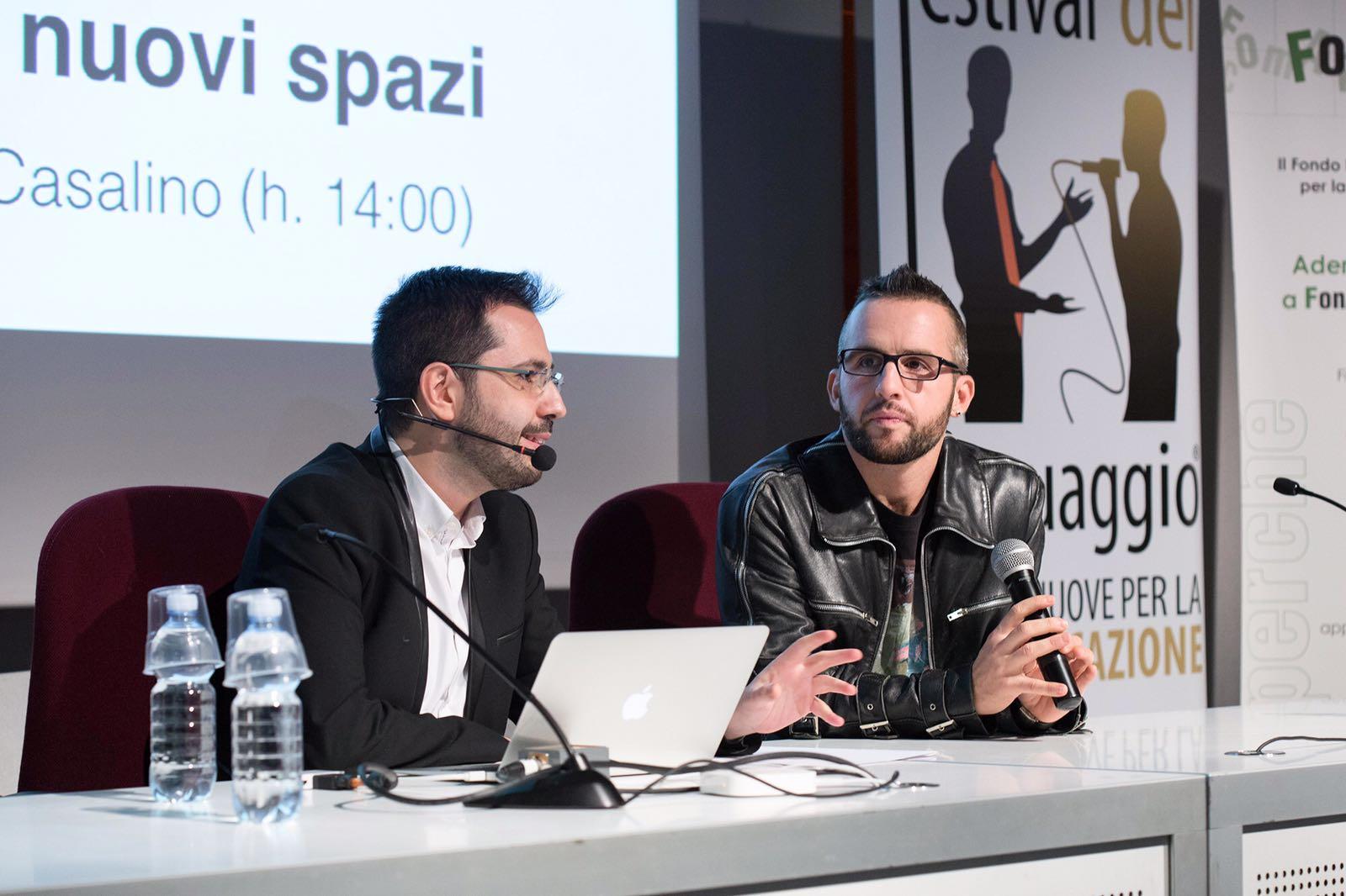 Patrick Facciolo e Roberto Casalino