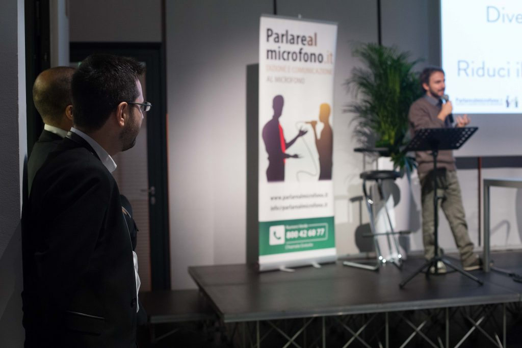 Claudio Pomo al Festival del Linguaggio