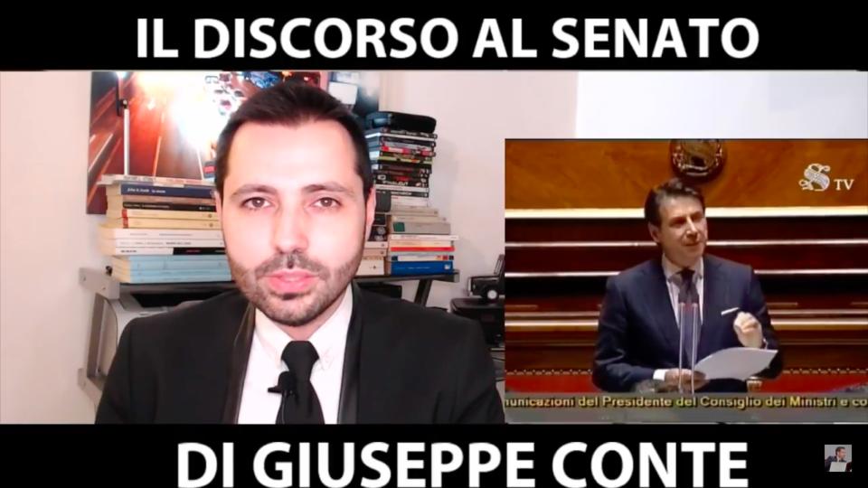 Public Speaking: il discorso del Presidente del Consiglio Giuseppe Conte in Senato [VIDEO]
