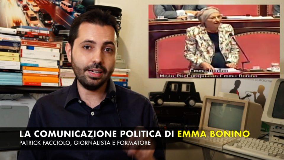 """Emma Bonino e il discorso del """"Voi sapete come me…"""""""