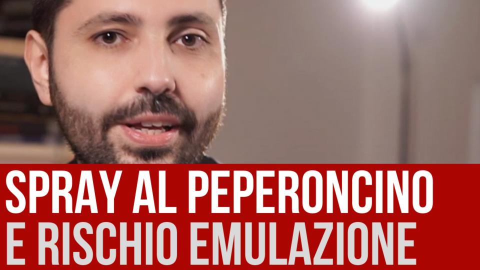 Ancona: lo spray al peperoncino e il rischio emulazione