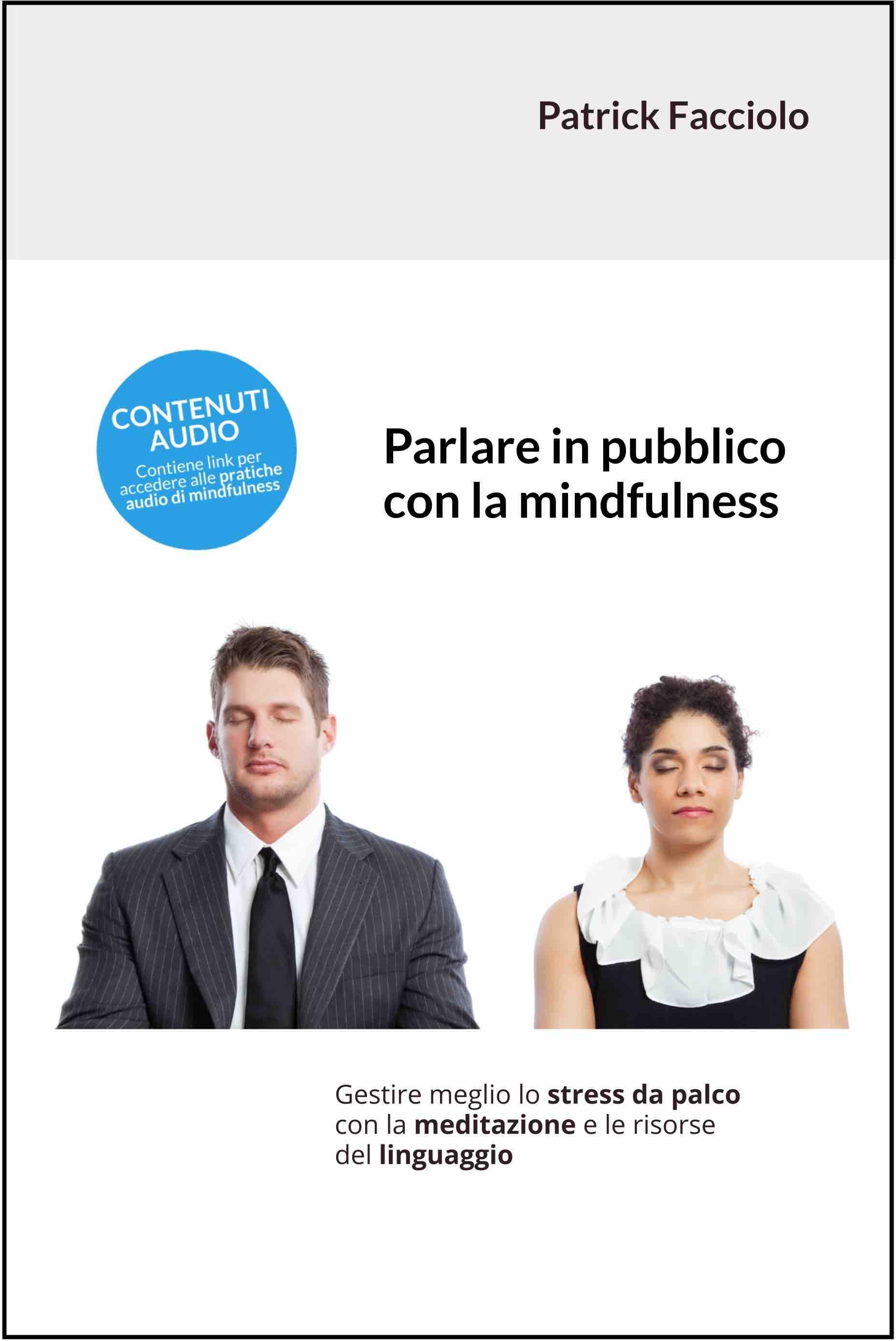 Copertina Parlare in pubblico con la mindfulness