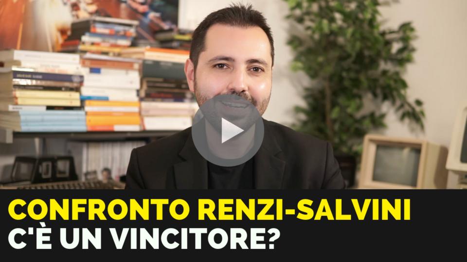Confronto Renzi-Salvini in tv: c'è un vincitore?