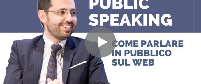 Come parlare in pubblico sul web