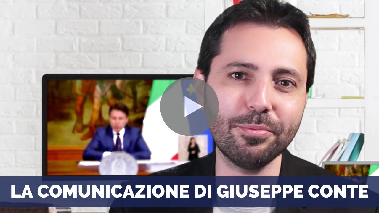 La comunicazione di Giuseppe Conte