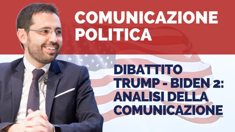 Dibattito finale Trump – Biden: analisi della comunicazione