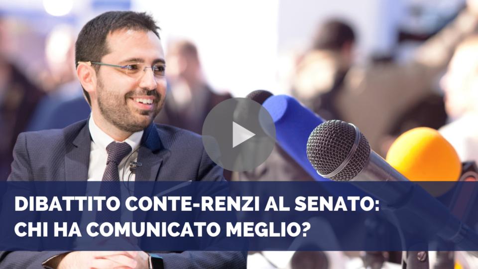 Dibattito Conte-Renzi in Senato: chi ha comunicato meglio?